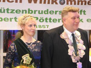 Königspaaar Patty Astruid 2017