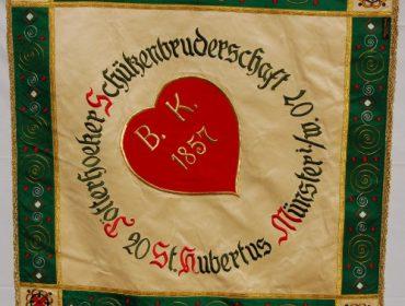 Fahne Schützenbruderschaft Poetterhoek