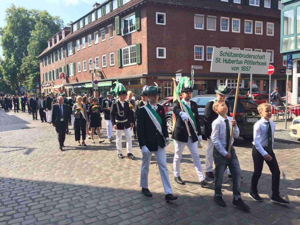 Stadtschützenfest 2017 Marsch 5