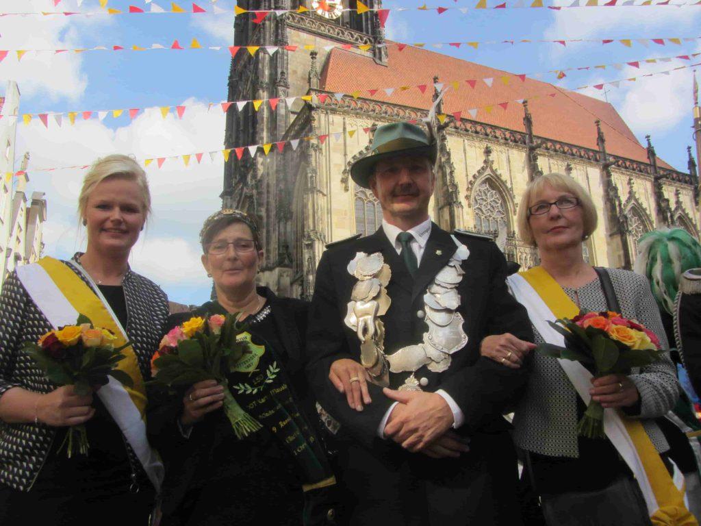 Stadrtschützenfest 2017 Koenigspaar