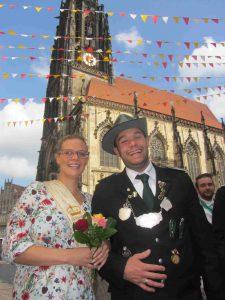 Stadrtschützenfest 2017 Kaiserpaar