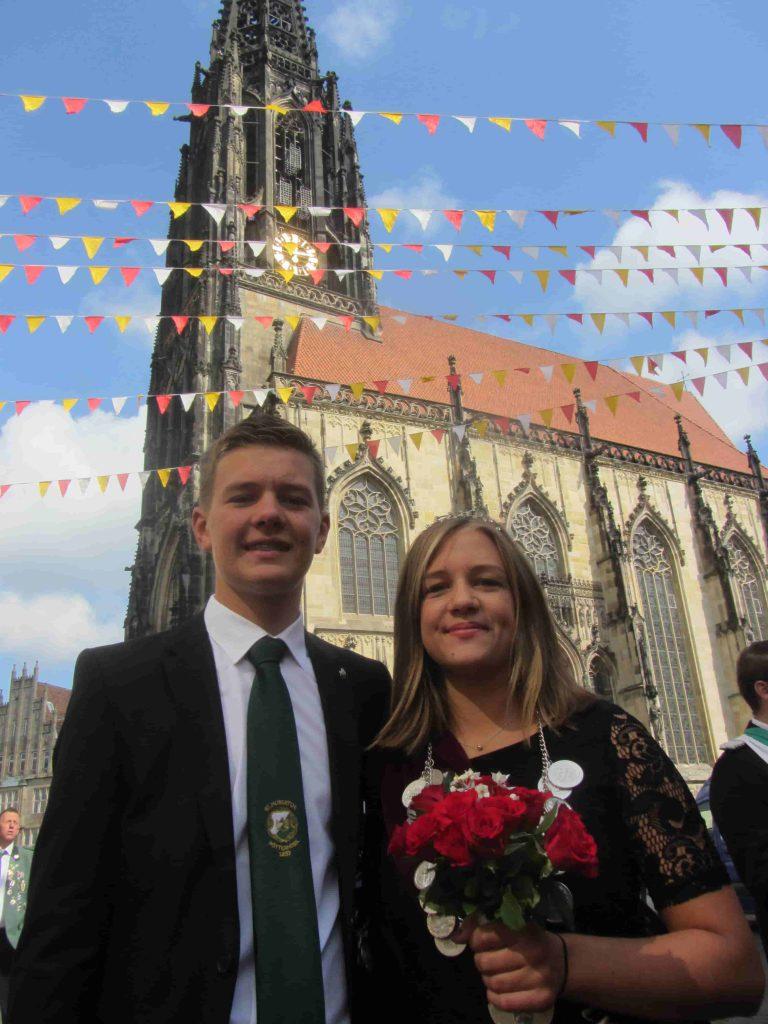 Stadtschützenfest 2017 Prinzenpaar
